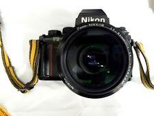 Nikon F3 body w/ 43-86mm 52mm Strap Lens Box Lens Hoods & Booklets