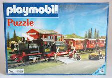 ULTRA RARE VINTAGE 1978 PLAYMOBIL PUZZLE LYRA 4038 TRAIN GREEK GREECE NEW SEALED