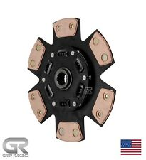 GRIP STAGE 3 MIBA 6 PUCK CLUTCH DISC FOR NISSAN (FITS: 350Z 370Z G35 G37)
