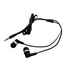 In-ear estéreo auriculares negros para Samsung Galaxy S Super Clear LCD (gt-i9003)