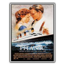 Titanic 1997 METAL SIGN WALL PLAQUE Film Movie Advert poster art print