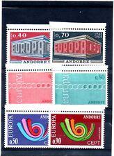 lot Andorre Europa neufs ssch