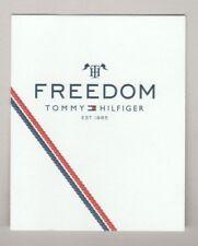Carte à parfumer -  Perfume Card  - Freedom Tommy Hilfiger
