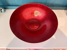 Marks and Spencer large red ornamental bowl