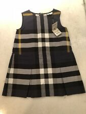 BURBERRY CHILDREN 4Y GIRLS DRESS 100% AUTHENTIC BRAND NEW WITH TAG