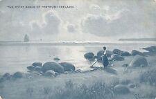 POSTCARD   IRELAND   PORTRUSH   The  Rocky  Sands