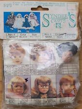 """Syndee's Craft 10-1/2"""" - 11-1/2"""" BLACK PAGE BOY DOLL WIG #52051 *more than 1 av."""