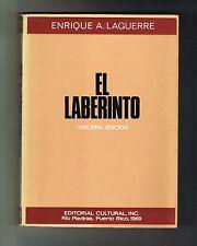 Enrique A. Laguerre El Laberinto Novela Puerto Rico 1969 Cultural