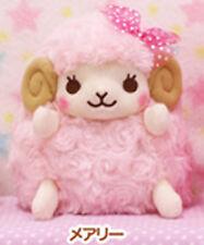 Heartful Girly Wolly 6'' Light Pink Sheep Amuse Prize Plush