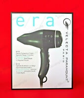 Velecta Paramount Era Hair Blow Dryer, MADE BY HAND IN FRANCE, FREE SHIPPING