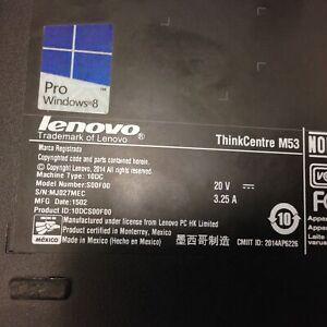 Lenovo ThinkCentre M53 10DC - Pentium J2900 2.41 GHz - 4 GB RAM, No Cables/Caddy