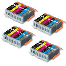 24 PK New Ink Set  with chip for Canon Series 270 271 Pixma MG7720 MG7700