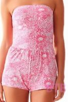 Lilly Pulitzer Taylin Romper Coverup Resort White Get Spotted