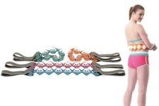 Yoga Full Body Hand Massage Rope Belt Relax Pull Back Tone Device 100 cm Length