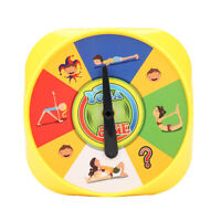 Parents and Children Yoga Pose Cards Interactive Early Education Kid Game Learn
