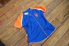 New York Mets Youth Medium fits sizes 8/10 button up jersey by Nike