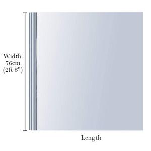 UK Glass Self Adhesive Film Reflective Mirror Window UV Sun Protection Spy Foil