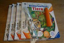 Ravensburger Tiptoi Paket 4 Bücher inkl. Stift 1. Generation