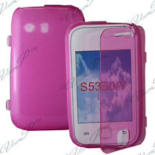 Case Portfolio Cover Flap Book Pink Samsung Galaxy There Neo GT-S5360/S5369i