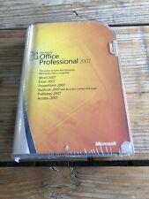 Microsoft Office Professional 2007, Retail, Englisch mit MwSt Rechnung