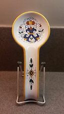 SUR LA TABLE ITALIAN RED CLAY POTTERY SPOON REST MAJOLICA ITALY