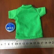 "1/6th Green shirt Men's T-shirt Model For 12"" Male Body Action Figure"