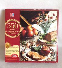 Betty Crocker Roast Pork Loin With Yam-Stuffed Apples  550 Piece Jigsaw Puzzle