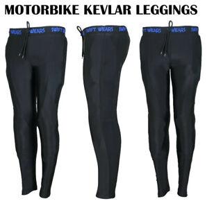 Mens/Ladies Unisex Leggings made with Kevlar Motorcycle Motorbike Pant Super Fit