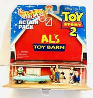 1999 Disney Pixar Toy Story 2 Hot Wheels Custom Cruiser AL's BARN Action Pack