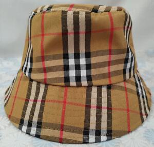 Burberry Outdoor Sport Unisex Cap Packable Bucket Hat Unisex Medium