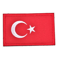 turkish flag embroidered badge military tactical backpack caps patches armbandWG