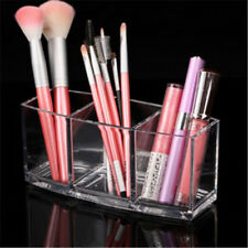 Acrylic Cosmetic Makeup Organizer Display Brush Holder Cup Lipstick Stand GN