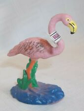 Bullyland Flamingo German Animal Figure Figuring Hand Painted Plastic Toy NEW
