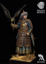 Genghis Khan 200mm 1/9 Painted Toy Soldier Miniature Pre-Sale | Museum Quality