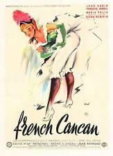 FRENCH CAN CAN Movie POSTER 11x17 French Jean Gabin Francoise Arnoul Maria Felix