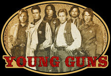 80's Western Classic Young Guns Poster Art custom tee Any Size Any Color
