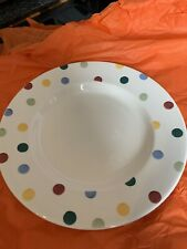 "More details for emma bridgewater polka dot 101/2"" plate"