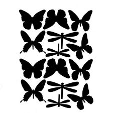 Butterflies Dragonfly Flying Wall Stickers Decal Home Art Mural Wallpaper Kid N7