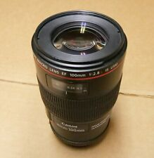 Canon EF 100mm f/2.8L IS USM Macro Camera Lens 3554B002 DEMO UNIT