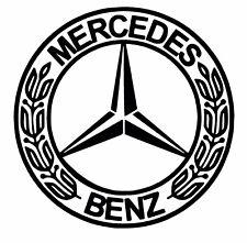 Mercedes Badge Car Decal / Sticker