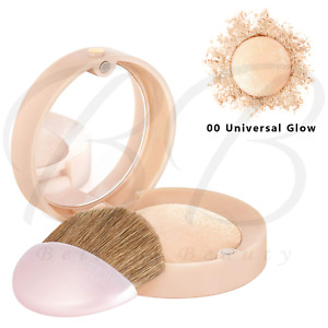 BOURJOIS Le Petit Strober Highlighter Brush and Mirror - 00 Universal Glow *NEW*