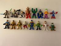 Imaginext Playskool Hasbro Action Mini Figures Mixed Lot Star Wars Superhero