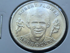 ROBERT FLOWER-MELBOURNE DEMONS HERALD SUN AFL COMMEMORATIVE MEDAL COIN