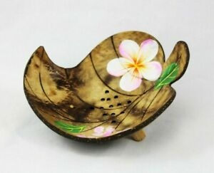 Soap Dish Wood Coconut Soap Bowl For Ranges Organic Thailand
