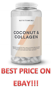 Coconut and Collagen Capsules, My Vitamins, 90, 120 & 180 Tablets