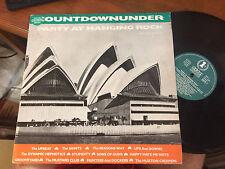 "COUNTDOWNUNDER PARTY AT HANGING ROCK VINYL RECORD LP 12"" OZ ROCK"