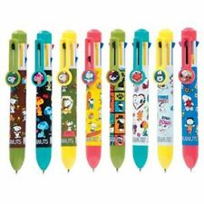 New listing Peanuts 8 Color Pen with Clip Charm (Design May Vary)