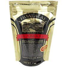 Hualalai Estate Coffee 100% Kona Peaberry Coffee 7oz WHOLE BEAN