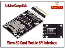 Micro sd card reader module pour Arduino, Raspberry Pi, pic. robotdyn