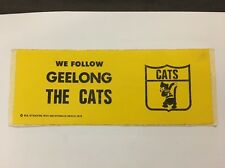 RARE  1979 GEELONG CATS VINTAGE STICKER VFL AFL GREAT CONDITION